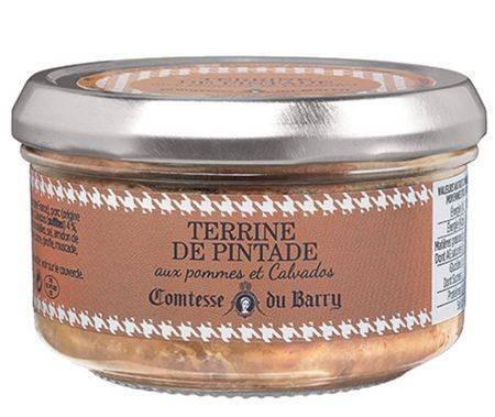 Perlhuhnterrine mit Äpfeln und Calvados 140g