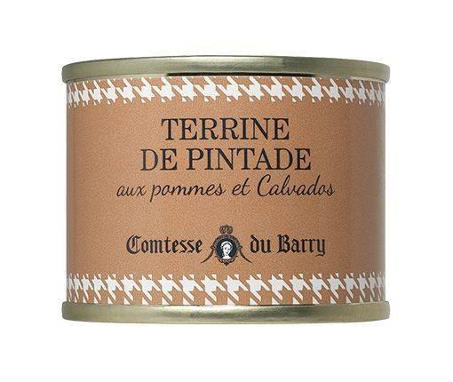 Perlhuhnterrine mit Äpfeln und Calvados 70g
