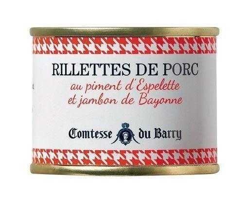 Schweine-Rillettes mit Piment d'Espelette und Schinken aus Bayonne 70g