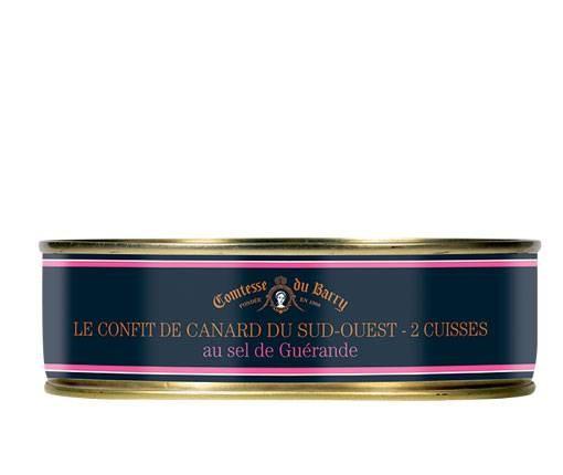 Confit von der Entenkeule mit Salz von Guérande 650g