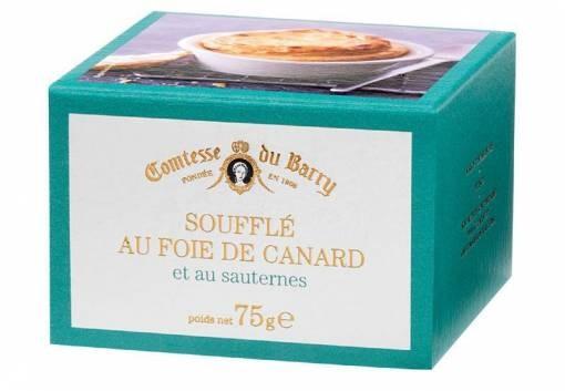 Souffle mit Enten-Foie Gras und Sauternes-Wein 75g