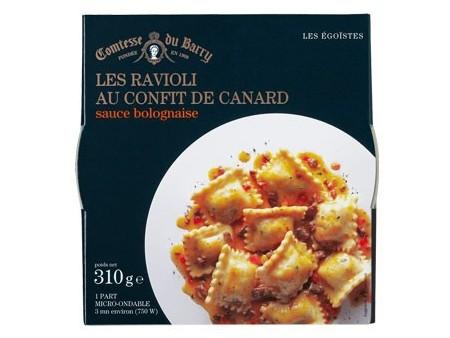 Ravioli mit Enten-Confit und Sauce Bolognaise 310g
