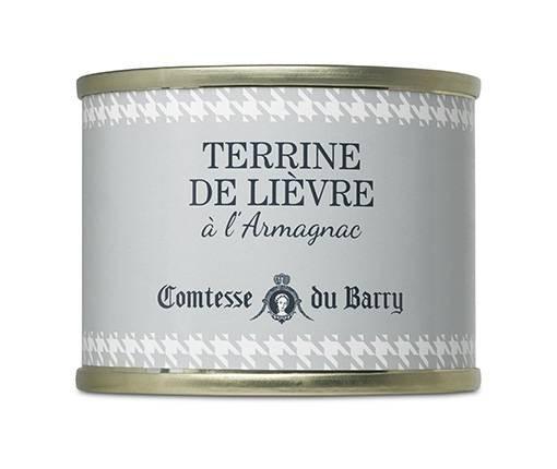 Hasenterrine mit Armagnac 70g