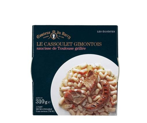 Cassoulet Gimontois - Eintopf mit weißen Bohnen und gegrillten Würsten 310g