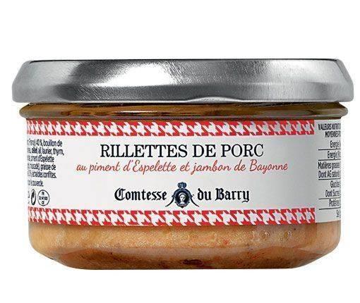 Schweine-Rillettes mit Piment d'Espelette und Schinken aus Bayonne 140g