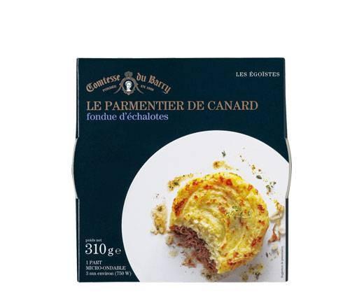 Hachis Parmentier - Kartoffelpüree und Entenfilets mit Schalotten-Fondue